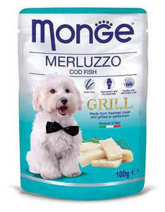 Monge Grill Cod Fish Dog Wet Food (4 Sizes)