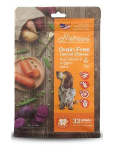 Natruse Grain Free Chicken Veggie Dog Treats 12pcs (S)