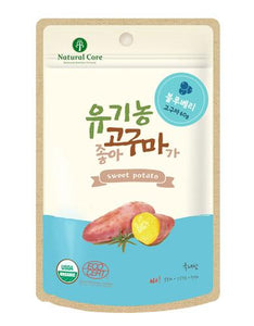 Natural Core Sweet Potato Blueberry Dog Treat 60g