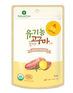 Natural Core Sweet Potato Cheese Dog Treat 60g