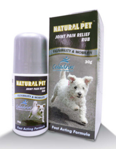 Natural Pet Joint Pain Relief Rub For Pets (30g)