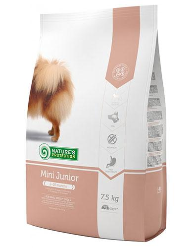 Natures Protection Mini Junior Unique Super Premium Dog Food | Waggymeal Online Pet Store Malaysia