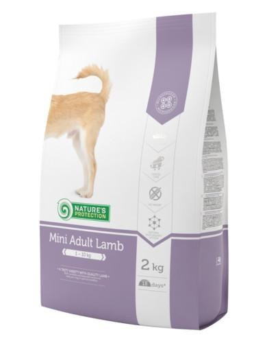 Natures Protection Adult Mini Lamb 2kg | Waggymeal Online Pet Store