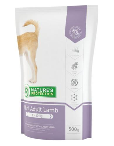 Natures Protection Adult Mini Lamb 500g | Waggymeal Online Pet Store