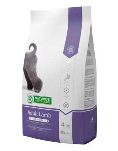 Natures Protection Adult with Lamb 4kg | Waggymeal Online Pet Store