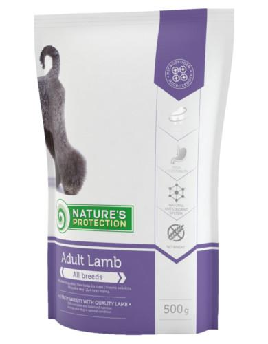 Natures Protection Adult with Lamb 500g | Waggymeal Online Pet Store