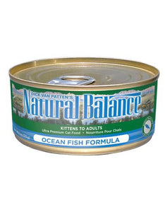 Natural Balance Ocean Fish Formula Cat Wet Food 170g (6oz.)