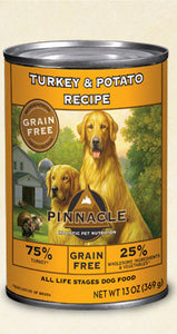 Pinnacle Canine Turkey Canned Dog Food