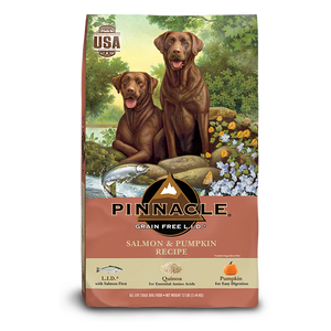 Pinnacle Canine Salmon & Pumpkin Dog Dry Food ( 3 Sizes )