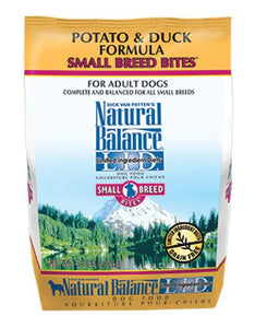Natural Balance Potato & Duck Formula Small Bites Dog Dry Food 2.04kg (4.5lbs)