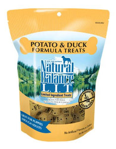 Natural Balance Potato & Duck Small Bite Dog Treats 227g (8oz.)