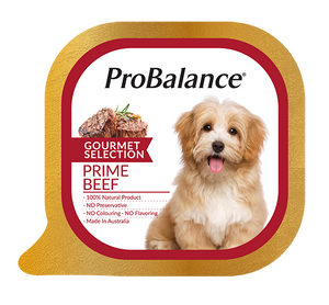 ProBalance Prime Beef Dog Wet Food 100g