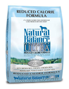 Natural Balance Reduced Calorie Formula Dog Dry Food (2 Sizes)
