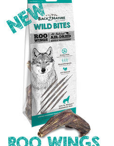 Back 2 Nature Roo Wings Dog Treats (L) - 1 pcs