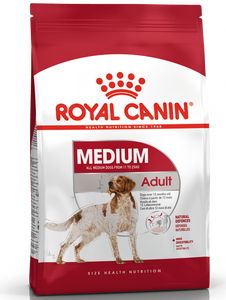 Royal Canin Medium Adult Dry Dog Food (2 Sizes)