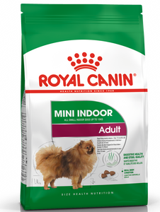 Royal Canin Mini Indoor Adult Dry Dog Food (3 Sizes)