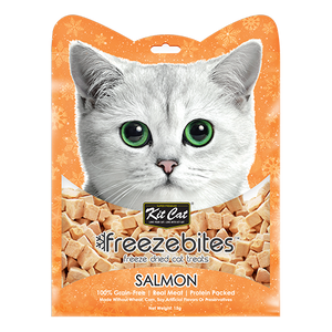 Kit Cat Freeze Bites SalmonFreeze Dried Cat Treats 15g