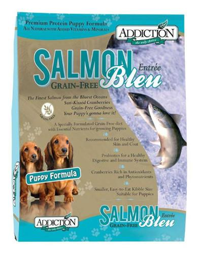 Addiction Salmon Bleu Puppy - Grain Free | Waggymeal Online Pet Store Malaysia