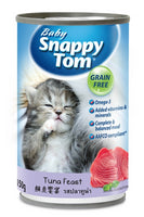 Baby Snappy Tom Tuna Feast Cat Canned Food 150g