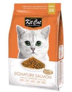 Kit Cat Signature Salmon Dry Cat Food (2 sizes)