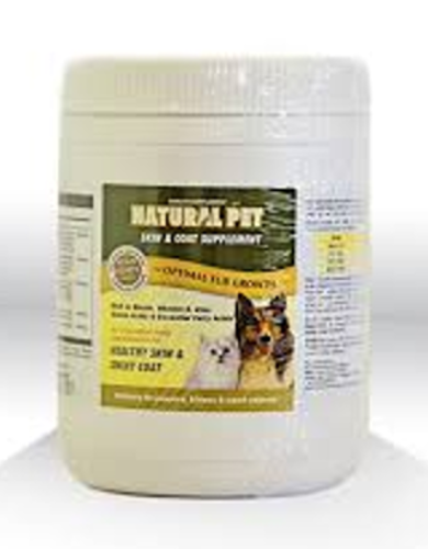 Natural Pet Skin & Coat Supplement For Pets (400gm) | Waggymeal Online Pet Store Malaysia