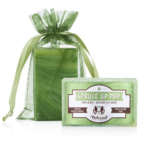 Natural Dog Company Spruce Up Pup Organic Shampoo Bar 6oz