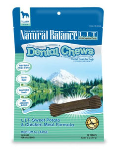 Natural Balance Sweet Potato & Chicken Meal Formula With Mango Dog Treats 130z (369) (2 Sizes)