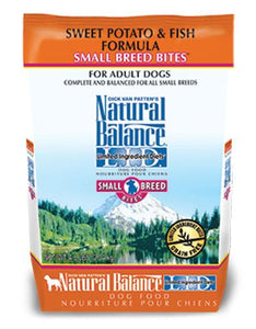 Natural Balance Sweet Potato & Fish Formula Small Bites Dog Dry Food (2 Sizes)