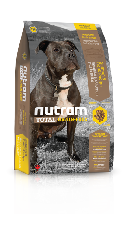 T25 Nutram Total Grain-Free® Salmon & Trout Recipe Natural Dog Food