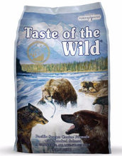 Load image into Gallery viewer, Taste Of The Wild Pacific Stream Canine Formula with Smoked Salmon Dry Dog Food ( 3 Sizes )
