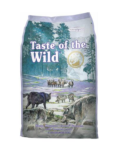 Taste Of The Wild Sierra Mountain Canine Formula Dry Dog Food ( 3 Sizes ) | Waggymeal Online Pet Store Malaysia