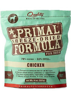 Primal Freeze Dried Canine Chicken Nuggets ( 2 sizes )