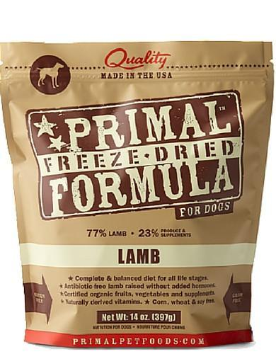 Primal Freeze Dried Canine Lamb Nuggets ( 2 sizes )