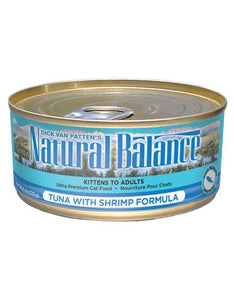 Natural Balance Tuna with Shrimp Formula Cat Wet Food 170g (6oz.)