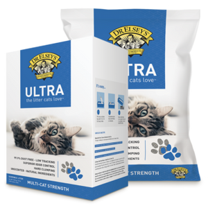 Dr Elsey's Ultra Premium Clumping Cat Litter 9.08kg (2 types)