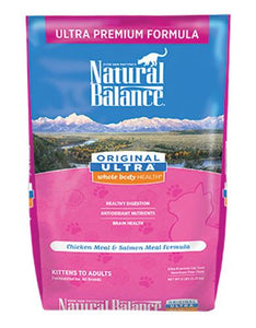 Natural Balance Ultra Premium Cat Dry Food (2 Sizes)
