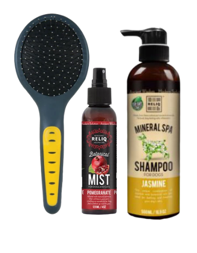 Grooming Kit Starter Pack ( Get Free Treats!)