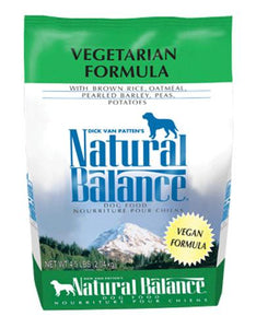 Natural Balance Vegetarian Formula Dog Dry Food (3 Sizes)