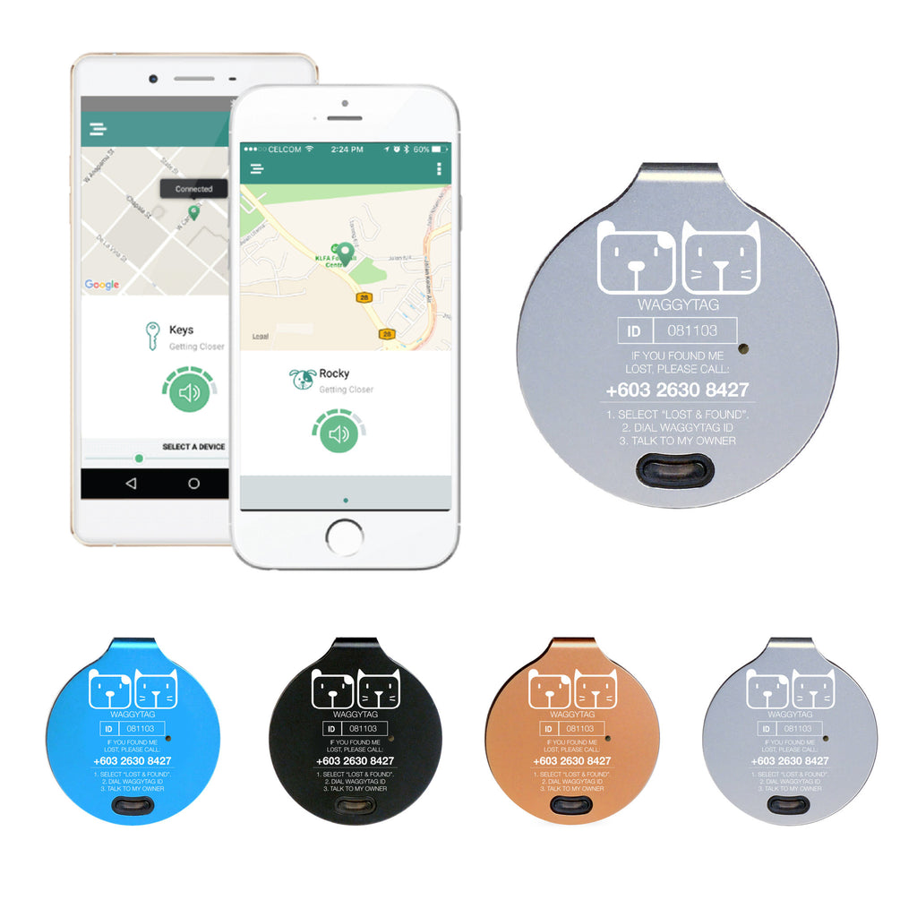 WaggyTag Smart Tracker Pet Tag