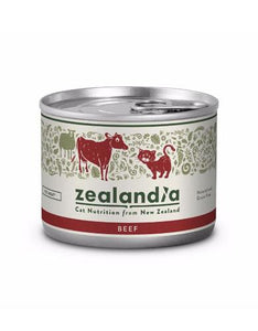 Zealandia Free Range Beef Canned Cat Food 170g