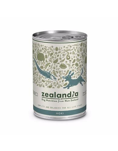 Zealandia Grain Free Hoki Canned Dog Food ( 370g ) | Waggymeal Online Pet Store Malaysia