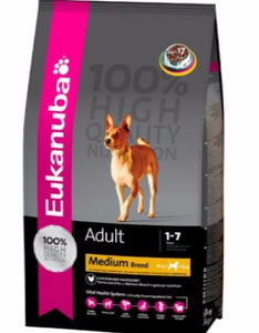 Eukanuba Adult Maintenance Medium Breed Dry Dog Food (3 sizes)