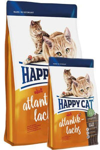 Happy Cat Supreme Atlantik-Lachs (Atlantic Salmon) Cat Dry Food (4 Sizes)