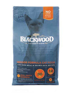 Blackwood Indoor Formula Chicken Meal & Brown Rice Recipe Dry Cat Food (4 Size)