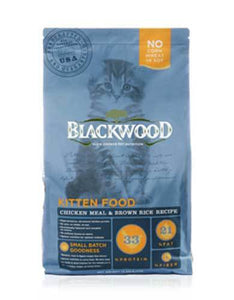 Blackwood Kitten Chicken Meal & Brown Rice Recipe Dry Cat Food (3 Size)