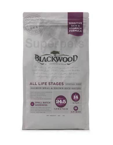 Blackwood Sensitive Salmon & Rice (4 Size) | Waggymeal Online Pet Store MY
