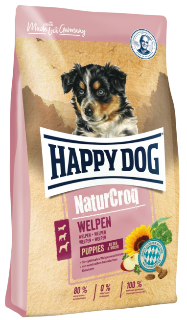 Happy Dog NaturCroq Welpen Puppies Dry Food (2 Sizes)