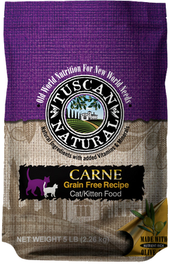Tuscan Natural Carne Grain-Free Turkey & Chicken Recipe Cat/Kitten Food