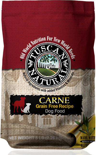 Tuscan Natural Carne Grain Free Turkey & Chicken Recipe Dog Food
