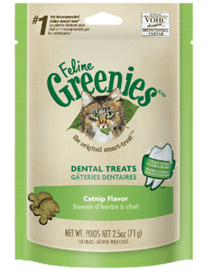 Feline Greenies Catnip Cat Treats (2.5oz)